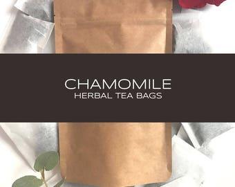 Chamomile Herbal Tea Bags