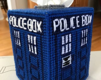 Doctor Who Tissue Box