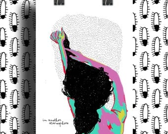 Poster poster / Cosmos in Head / graphic Illustration