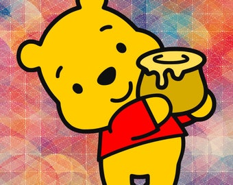 Pooh Bear // Winne the Pooh // Disney // SVG // Printable