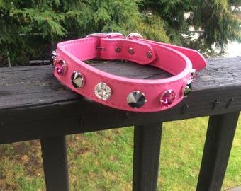 Swarovski crystal pet collar bling your pets!