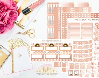 May Monthly Kit Stickers | Planner Stickers | Planner Stickers designed for use with the Erin Condren Life Planner