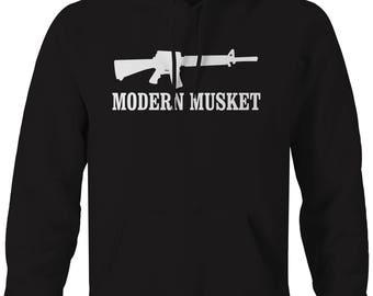 Modern Musket Hooded Sweatshirt- G200