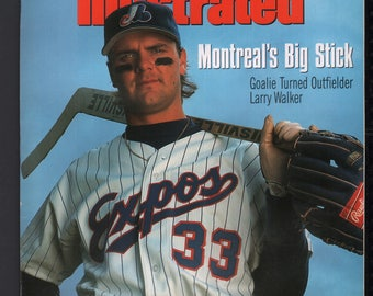 Vintage Magazine - Sports Illustrated : April 5 1993 - Larry Walker