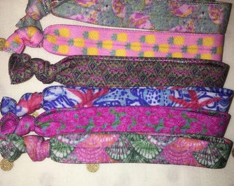 Lilly Pulitzer Inspired hair ties