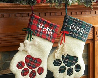 Personalized Pet Christmas Stocking