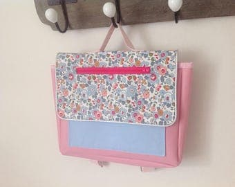 Cartable maternelle Liberty Betsy porcelaine