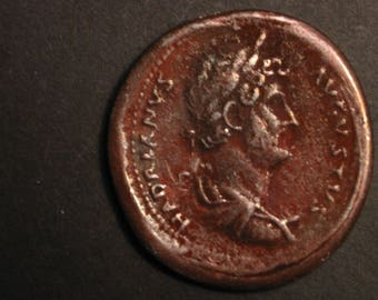 117-138 HADRIAN BRONZE SESTERTIUS Ancient Roman Coin Bronze Copy