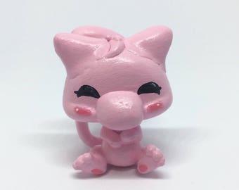 Mew   Pokemon Littlest Pet Shop Custom
