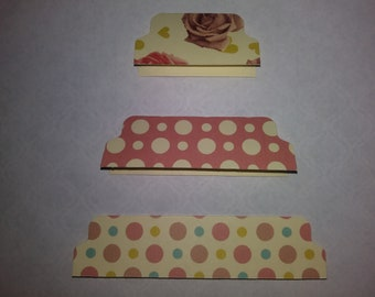 Rose/Dots themed file tabs