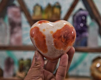 Beautiful Agate Heart