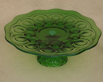 Footed Cake Plate Etsy