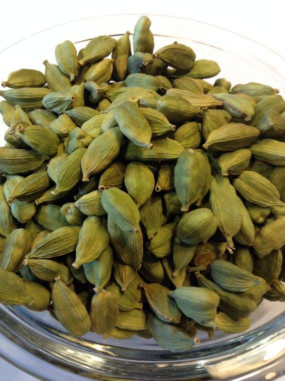 6-10 oz Organic Whole Cardomom Pods No sulfites no additives no preservatives