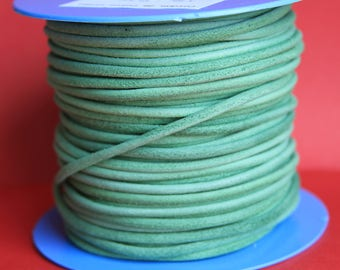 MADE in EUROPE 2 yards of suede cord, 3mm round suede cord (3crover)