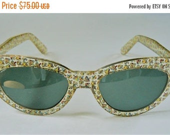 ON SALE Vintage Cat Eye Sunglasses, Cateye Sunglasses, Retro Sunglasses, Retro Glasses, Vintage Eyewear
