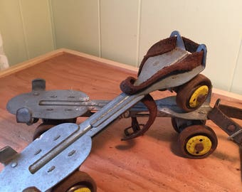 Vintage Roller Skates~Union Hardware Co.