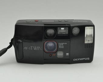 Olympus AF-1 Twin Point and Shoot Camera