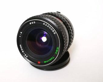 Vintage Tokina 25-50 mm f4 Zoom Lens for Minolta Camera