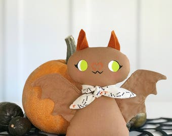Autumn- Radcliffe Doll Brown Plush Bat
