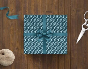 Wrapping Paper 'Waves' // 3pcs. x 50x70cm