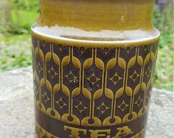 Vintage Hornsea Heirloom Tea Canister 1975 / Hornsea Tea / Vintage Hornsea / Tea Jar 1975 / Heirloom Tea Jar / Vintage Tea Jar / Hornsea Pot