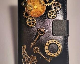 Steampunk Smartphone Case Victorian Clockwork