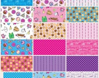 PRE-ORDER**Riley Blake Designs Girl Scout 18 piece Fat Quarter Bundle 100% Cotton