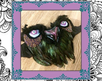 Owl Rave Bra- Custom Variations Available