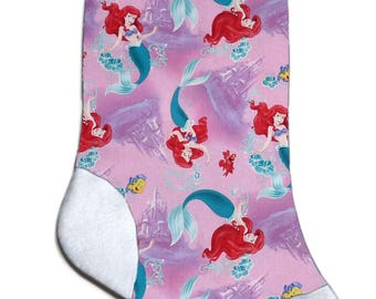 NEW Personalized Little Mermaid Ariel Christmas Stocking Embroidered