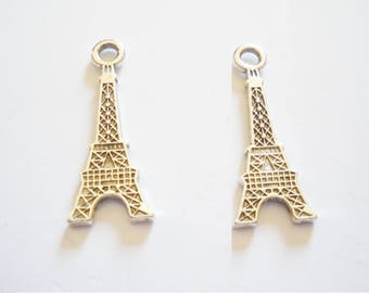 2 Eiffel Tower charms