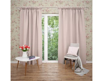 Linen Curtains | Curtains Mockup | Photoshop Curtains Mockup | Linen Drapes | Window Treatment | Curtain Panel | Custom Curtains|
