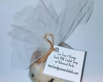 Tea Tree & Sweet Orange Loofa Soaps