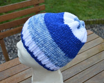 speckled blue Cap