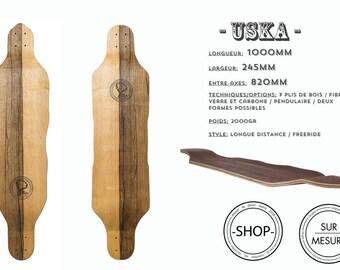 Uska longboard Longboard skateboard handcrafted