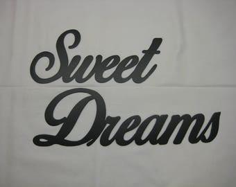 Sweet Dreams Metal Wall Decor Set