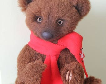 Michael, Teddy Bear, OOAK, 14 in,36 cm