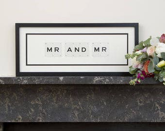 Mr And Mr Frame by VINTAGE PLAYING CARDS