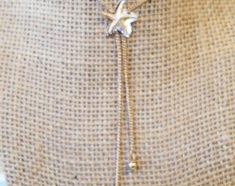 Vintage Avon Starfish, Avon Starfish necklace, Starfish necklace, Avon Necklace, Avon