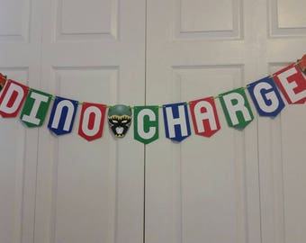Power Rangers Dino Charge Banner