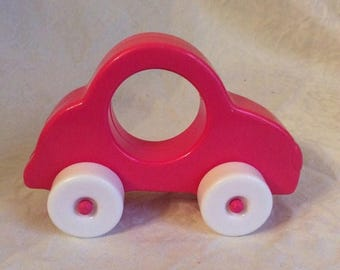 On Sale Vintage pink car rattle.