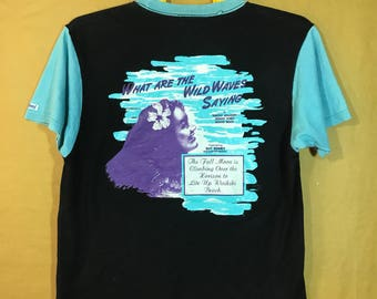 "SUN SURF HAWAII By Toyo Enterprise Ray Kinney T-shirt Adult Medium Size Chest 20"""