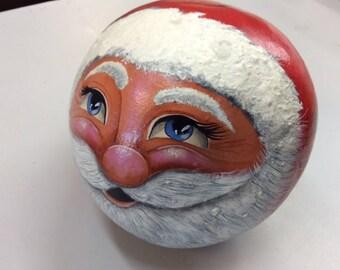 Santa Painted Gourd