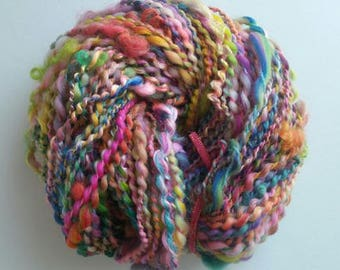 CASANOVA. the spinning wheel-spun wool skein.