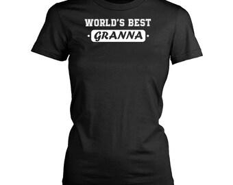 Granna womens fit T-Shirt. Funny Granna shirt.