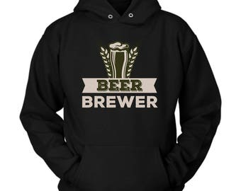 Beer Brewing hoodie. Cute and funny gift idea