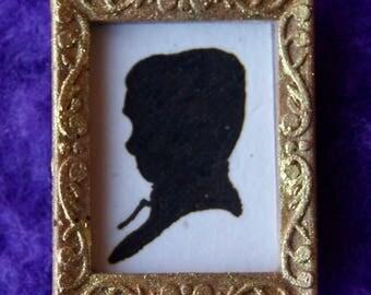 Miniature Silhouette (Boy)