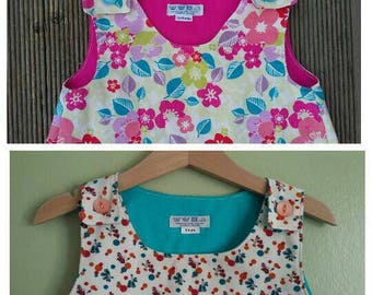 Liberty pinafore dress, floral cord dress, Liberty of London fabric, toddler dress, sweet, vintage style, gift for a little girl 1 2 3 4 5