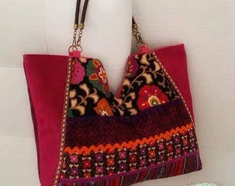 "Super trend this summer! ""Ella"" Bag in Boho-Chic style."