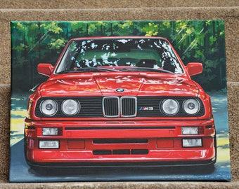 BMW M3 E30 Painting (original)
