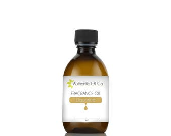 Liquorice fragrance oil concentrate for soap bath bombs and candles cosmetics